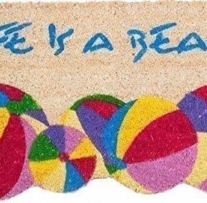 Coco-Mats-N-More-Life-is-a-Beach-Vinyl-Backed-Coir-Entrance-Mat-Doormats-18-X-30-0