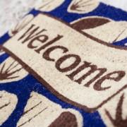 Entryways-Non-Slip-Coir-Doormat-17-Inch-by-28-Inch-Beach-Welcome-0-0