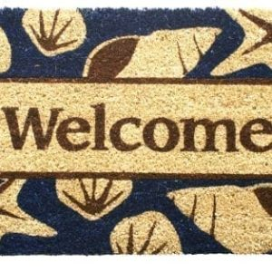 Entryways-Non-Slip-Coir-Doormat-17-Inch-by-28-Inch-Beach-Welcome-0