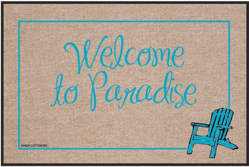 Welcome to Paradise Doormat