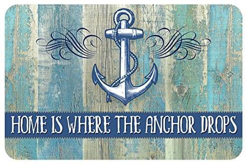 Novelty-Drop-Anchor-Mat-18-x-27-Multicolor-0 Nautical Anchor Decor