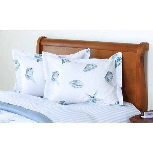 Beach Seashell Pattern Nautical Comforter Set Bed In A Bag