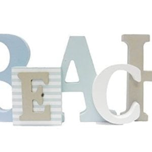 1-X-Beach-Word-Sign-Tropical-Beach-Decor-Great-for-Office-Table-Top-or-Wall-Hanging-125-Long-5-Tall-0