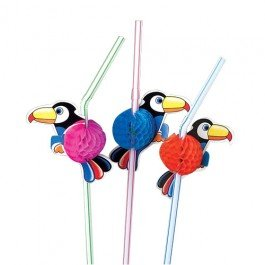 3-Dozen-Toucan-StrawsLUAU-Party-Supplies-and-DecorBEACHDrink-Supplies-0