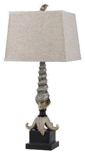 Cal-Lighting-Carapace-Starfish-Table-Lamp-3075-0 Coastal Themed Lamps
