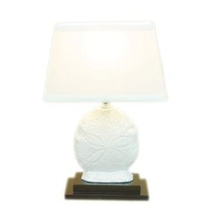 DEI-Sand-Dollar-Ceramic-Lamp-0-300x300 The Best Beach Themed Lamps You Can Buy