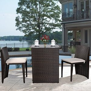 Giantex-3-PCS-Cushioned-Outdoor-Wicker-Patio-Set-Garden-Lawn-Sofa-Furniture-Seat-Brown-0-300x300 The Best Wicker Conversation Sets You Can Buy