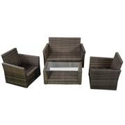 Goplus-4pc-Rattan-Sofa-Furniture-Set-Patio-Lawn-Cushioned-Seat-Gradient-Brown-Wicker-0-3