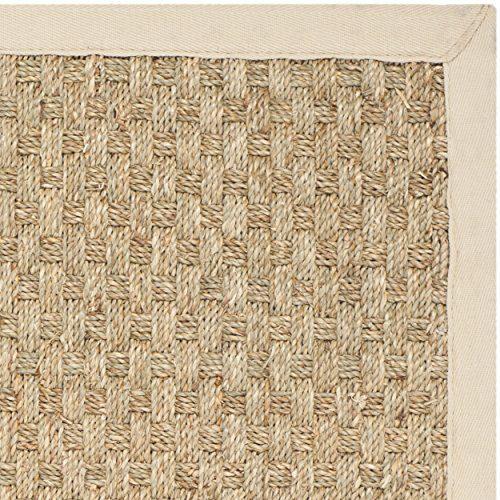 safavieh natural fiber beige seagrass area rug. Black Bedroom Furniture Sets. Home Design Ideas