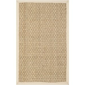 Safavieh-Natural-Fiber-Collection-NF114A-Handmade-Natural-and-Beige-Seagrass-Area-Rug-2-feet-by-3-feet-2-x-3-0