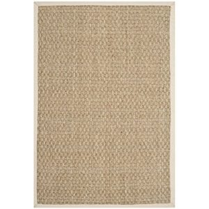 Safavieh-Natural-Fiber-Collection-NF114J-Handmade-Natural-and-Ivory-Seagrass-Area-Rug-2-feet-by-3-feet-2-x-3-0