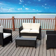 The-Miami-Beach-Collection-4-Pc-Outdoor-Rattan-Wicker-Sofa-Sectional-Patio-Furniture-Set-Choice-of-Set-Cushion-Color-0-1