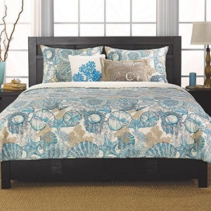3 - Coral-Starfish-and-Seashell-King-Size-Comforter-3-Pieces-300x300