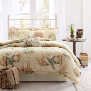 5-Summer-Harbor-Beach-House-King-Size-Comforter-4-Pieces-300x300 Best Starfish Bedding and Quilt Sets