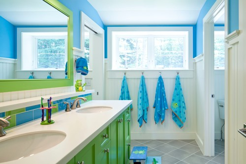 8-beach-bathroom-for-children-and-kids 16 Incredible Beach Themed Bathroom Designs