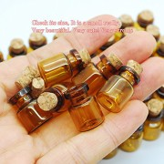 06ml-Dark-Brown-Cute-Strong-Miniature-Glass-Bottle-with-Corks-Tiny-Glass-Bottles-Small-Bottles-Great-for-Jewelry-Making-Altered-Art-Miniature-Art-Etc-0-3