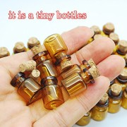06ml-Dark-Brown-Cute-Strong-Miniature-Glass-Bottle-with-Corks-Tiny-Glass-Bottles-Small-Bottles-Great-for-Jewelry-Making-Altered-Art-Miniature-Art-Etc-0-4