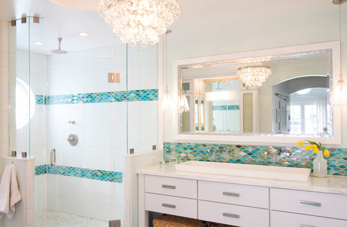teal tiles bathroom design