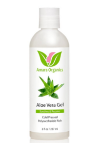 Aloe Vera Gel for Sunburn