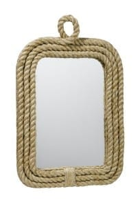 all rope nautical mirror 13