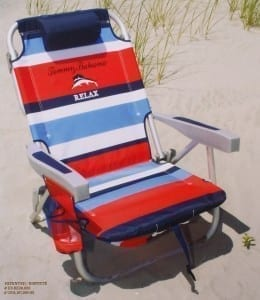 bring a beach chair to the beach