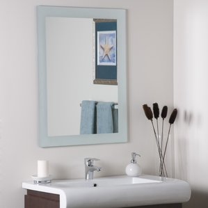 Limestone Creek Frameless Wall Mirror The Best Nautical Mirrors You Can Buy