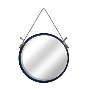 metal-round-nautical-rope-hanging-mirror The Best Nautical Mirrors You Can Buy
