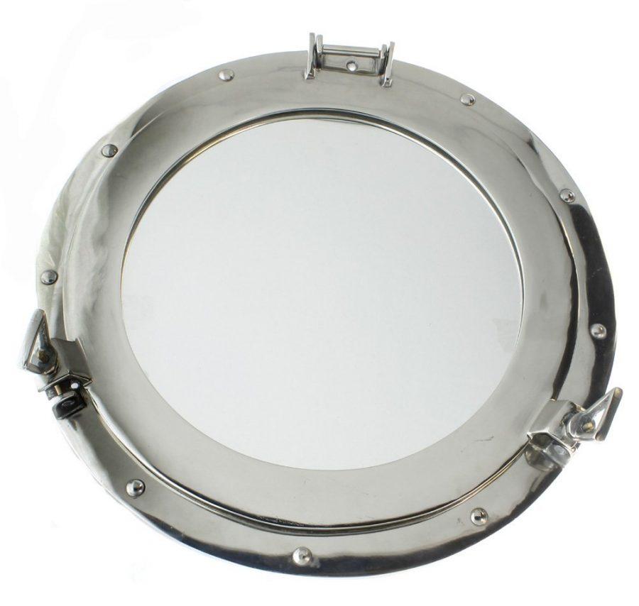 Porthole Aluminum Mirror