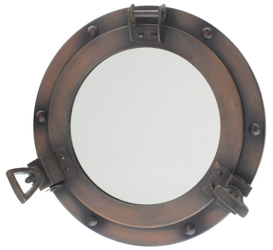 Porthole Antique Mirror