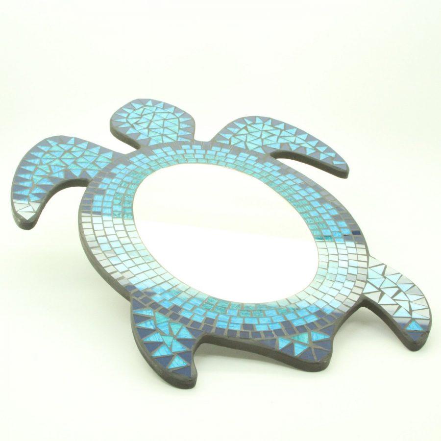 Mosaic Sea Turtle Mirror