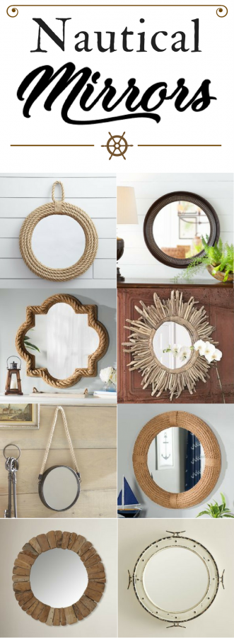 nautical-mirror-pinterest-pin The Best Nautical Mirrors You Can Buy