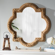 round-bevel-rope-nautical-wall-mirror The Best Nautical Mirrors You Can Buy