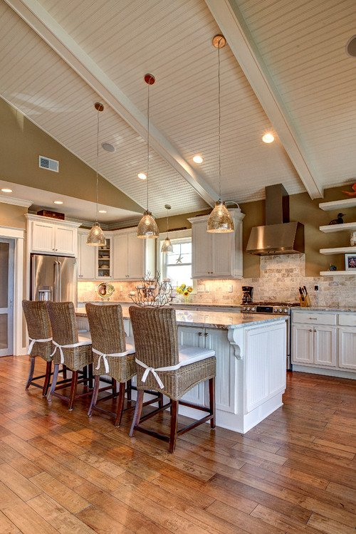 tropical-beach-kitchen-1 Best Beach and Coastal Kitchen Decor