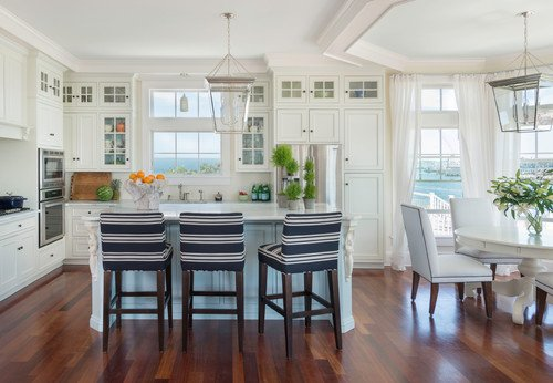 tropical coastal beach kitchen