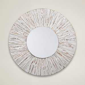 white-driftwood-mirror-beachcrest-home The Best Nautical Mirrors You Can Buy