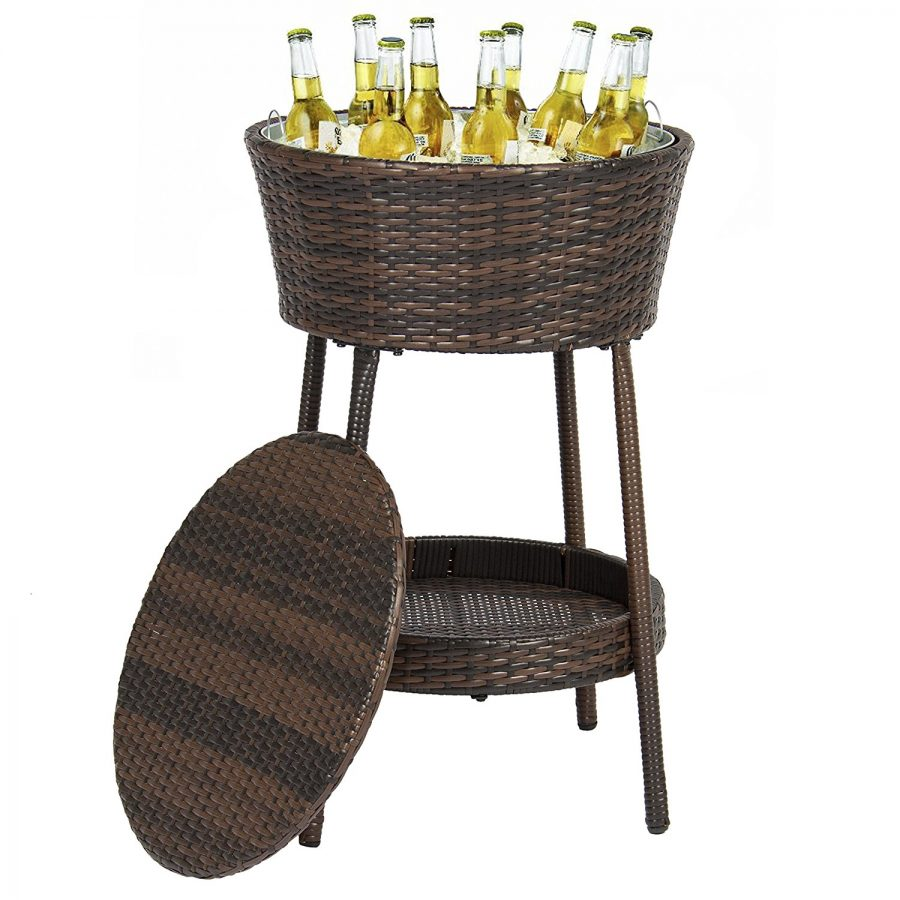 Best-Choice-Products-Wicker-Ice-Bucket-Outdoor The Best Outdoor Coolers and Ice Chests