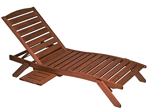 Butzke-Mestra-Eucalyptus-Wood-Chaise-with-Side-Shelf-Brown-0 The Ultimate Guide to Outdoor Teak Furniture