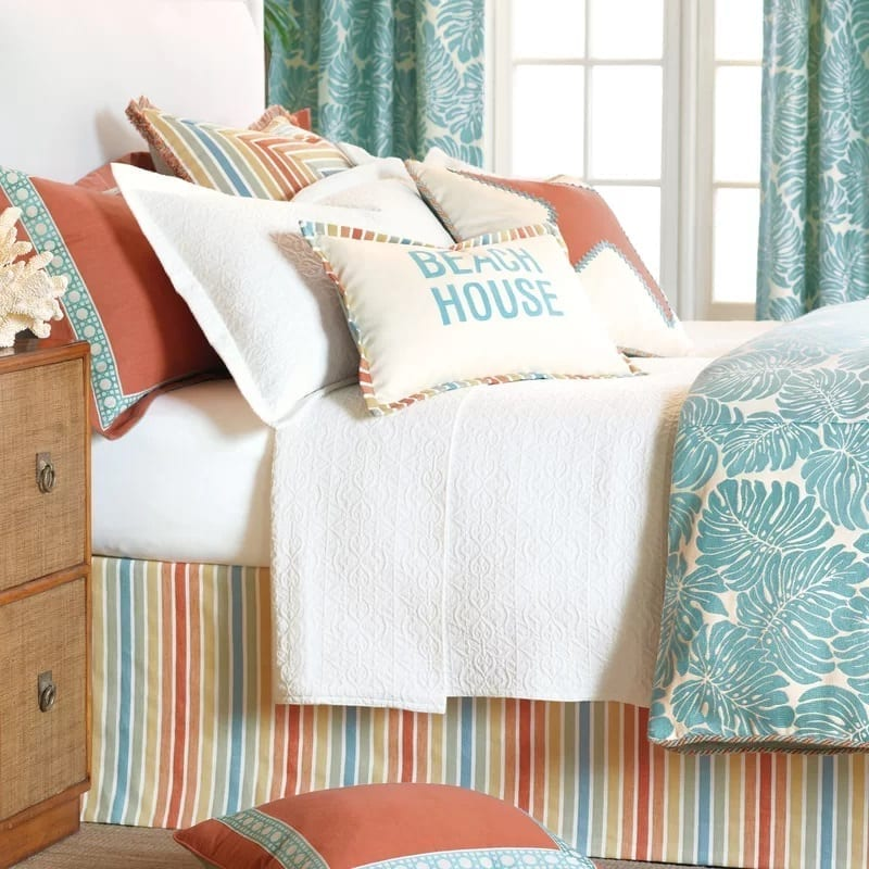 Capri-Comforter-Collection-by-Eastern-Accents Coastal Bedding and Beach Bedding Sets