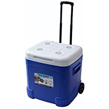 Igloo-Ice-Cube-Roller-Cooler-60-Quart-Ocean-Blue The Best Outdoor Coolers and Ice Chests