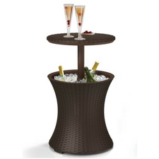 Keter-7.5-Gal-Cool-Bar-Rattan-Style-Outdoor-Patio The Best Outdoor Coolers and Ice Chests