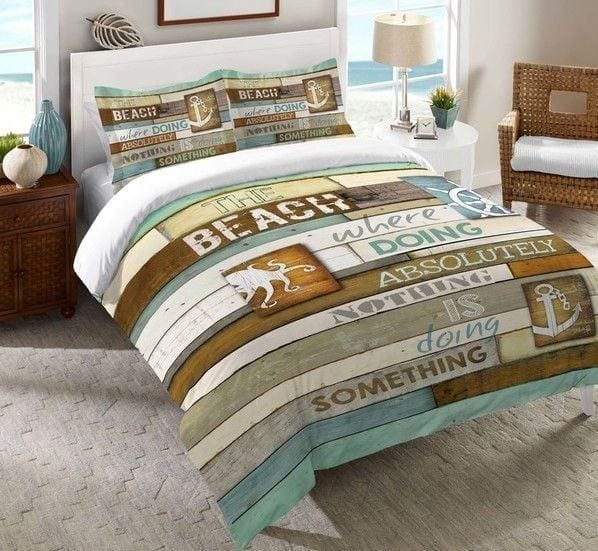 Laural-Home-Beach-Mantra-Comforter Coastal Bedding and Beach Bedding Sets