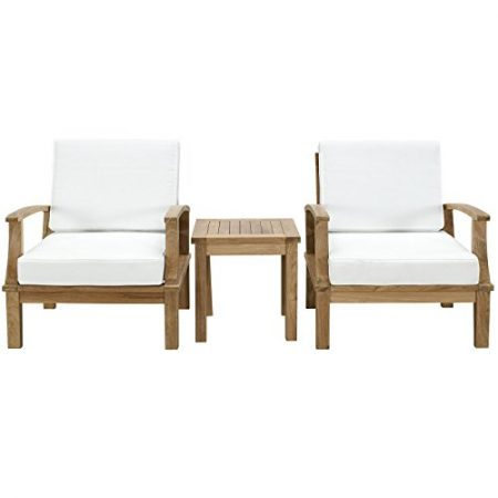 Modway-3-Piece-Marina-Outdoor-Richly-Textured-Patio-Teak-Sofa-Set-Natural-White-0-450x450 The Ultimate Guide to Outdoor Teak Furniture