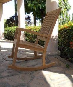 Teak Rocking Chairs