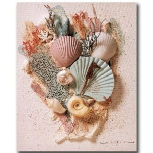 Ocean-Starfish-Sea-Shell-Beach-Bathroom-2-Wall-Picture-8x10-Art-Print-0