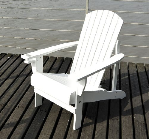 Outsunny-Adirondack-Outdoor-Patio-Lounge-Chair-White-0 Best Outdoor Patio Furniture
