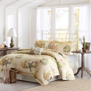Sandy-Beach-with-shells-comforter-set4--300x300 Ultimate Guide to Beach Themed Bedding Sets