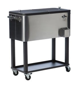 Stainless-Steel-Cooler-4-281x300 10 Outdoor Coolers For Your Beach Home or the Beach