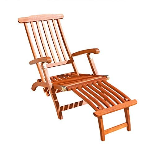 VIFAH-V156-Outdoor-Wood-Steamer-Lounge-Natural-Wood-Finish-45-by-22-by-36-Inch-0