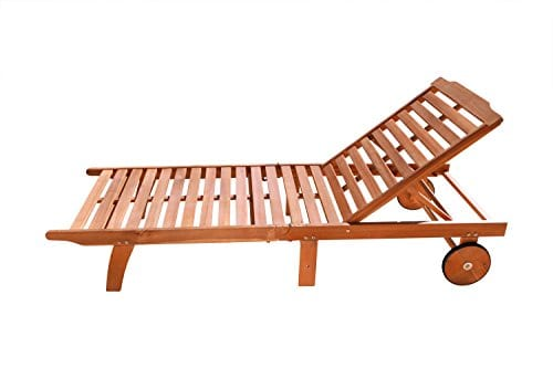 VIFAH-V255-Outdoor-Wood-Single-Chaise-Lounge-Natural-Wood-Finish-75-by-28-by-13-Inch-0 The Ultimate Guide to Outdoor Teak Furniture