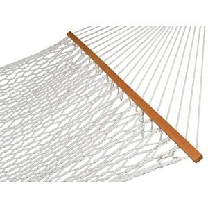 Zeny-Hammock-59-Cotton-Double-Wide-Solid-Wood-Spreader-Outdoor-Patio-Yard-Hammock-0